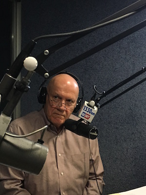 Jack Mencini recording the Dirty Secrets of Small Business