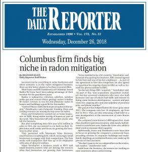 Daily Reporter - Radon Be Gone